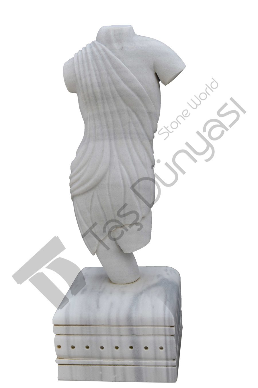 Antique Woman Sculpture